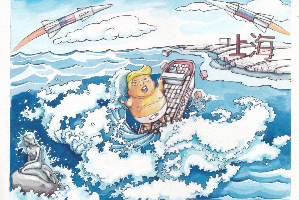 A Short (Hi)story: Trump! Ace or Disgrace? Or, Simply a Headcase?