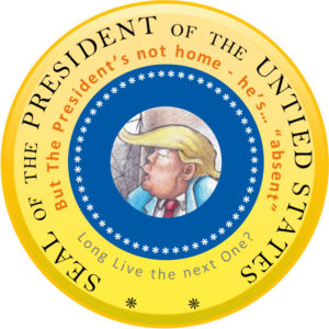President Trump's newly-designed seal
